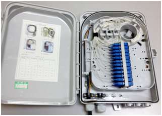 24port Fiber Termination Box Ftb 3c Tech Fiber Optic
